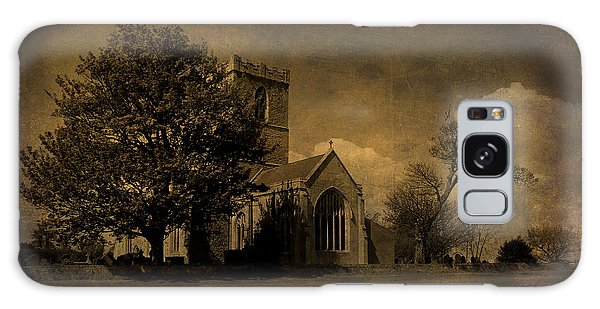 The Parish Church Of St Andrew Texture Galaxy Case