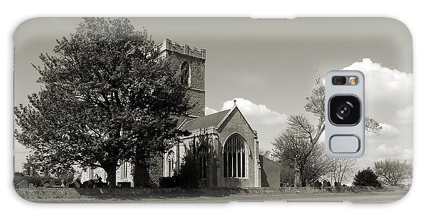 The Parish Church Of St Andrewbw Galaxy Case