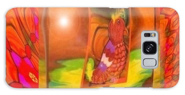 The Parrot From Conneaut Lake Memories Galaxy Case