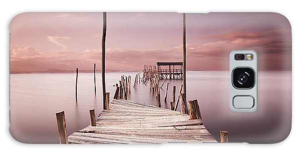 Pier Galaxy Case - The Passage To Brightness by Jorge Maia