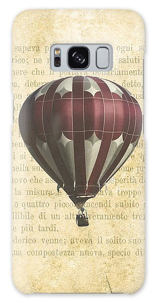 Hot Air Balloons Galaxy Case - The Printed Page 4 by Jan Bickerton