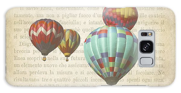 Hot Air Balloons Galaxy Case - The Printed Page 7 by Jan Bickerton