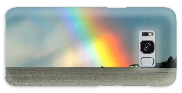 The Rainbow's Edge Galaxy Case