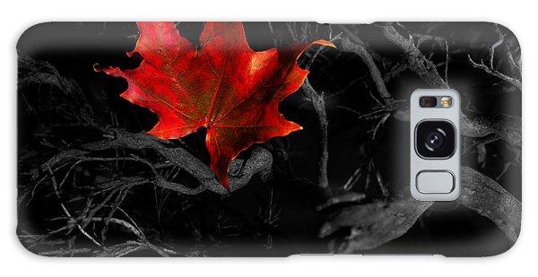 The Red Leaf Galaxy Case