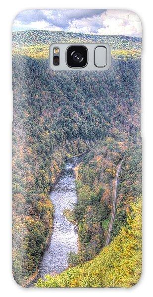 Wellsboro Galaxy Case - The River Runs Through The Canyon by Laurie Cybulak