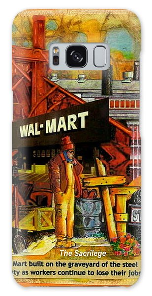 The Sacrilege Walmart Built In Grave Yard Of Steel Industry Galaxy Case