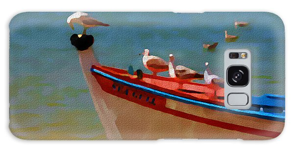 The Sea Gulls Galaxy Case by Jann Paxton