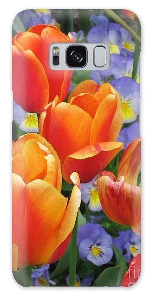 The Secret Life Of Tulips - 2 Galaxy Case by Rory Sagner