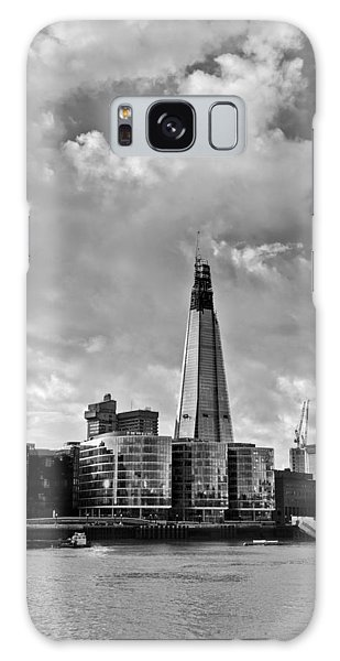 The Shard London Black And White Galaxy Case