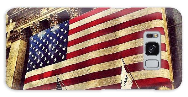 The Stock Exchange Gets Patriotic Galaxy Case