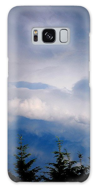 The Storms Brewing  Galaxy Case