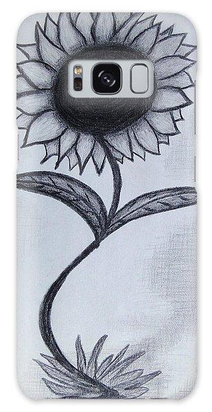 The Sunflower  Galaxy Case
