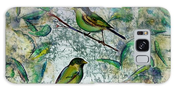 The Time Of Singing Birds Galaxy Case