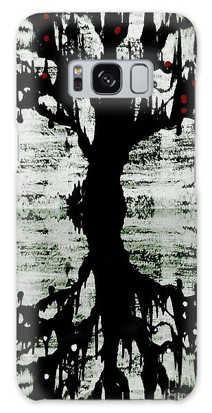 The Tree The Root Galaxy Case by Amy Sorrell