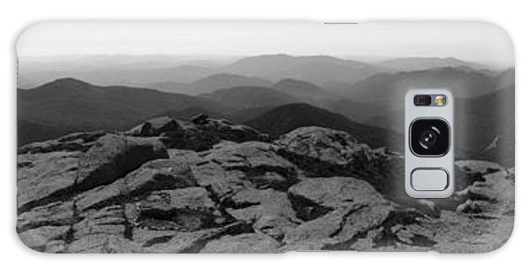 The View North From Mt. Marcy Black And White Three Galaxy Case