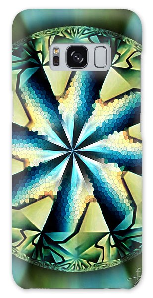 The Waves Of Silk Galaxy Case by Danuta Bennett