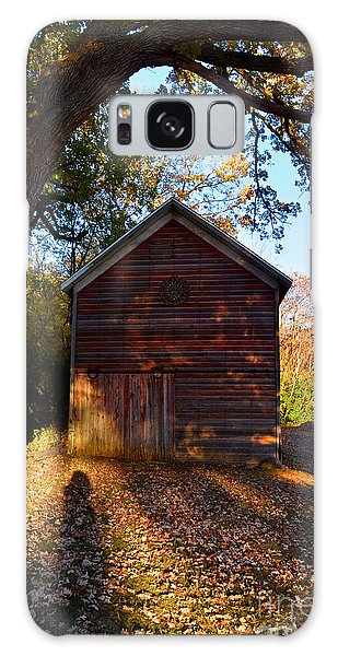 The Weathered Shed Galaxy Case by Sue Stefanowicz
