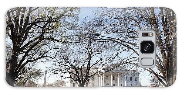 The White House And Lawns Galaxy Case