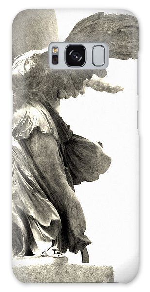 Featured Images Galaxy Case - The Winged Victory - Paris Louvre by Marianna Mills