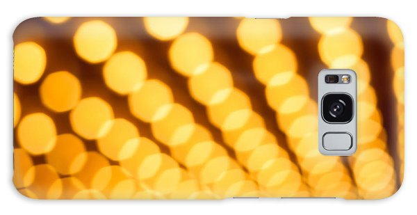 Movie Galaxy Case - Theater Lights In Rows Defocused by Paul Velgos