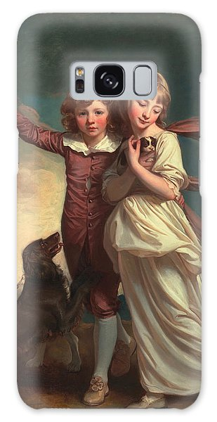 Brothers Galaxy Case - Thomas John Clavering And Catherine Mary Clavering by George Romney