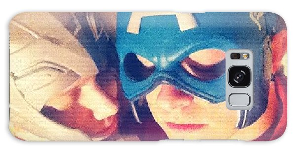 Superhero Galaxy Case - Thor And Captain America. #gay #lovers by Joey Broyles