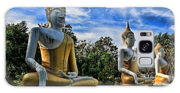 Buddha Galaxy Case - Three Of A Kind by Adrian Evans