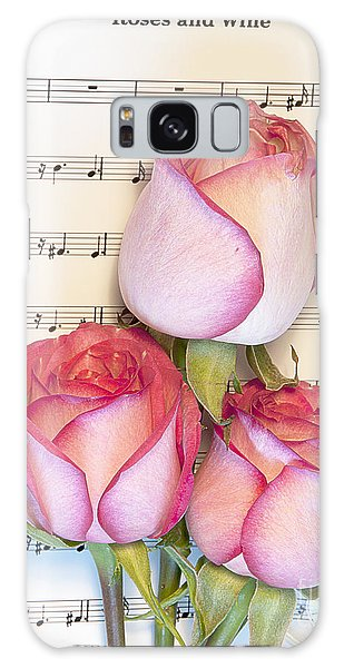 Roses And Wine Galaxy Case