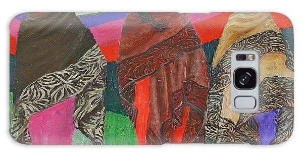 Three Women Galaxy Case by Judith Espinoza