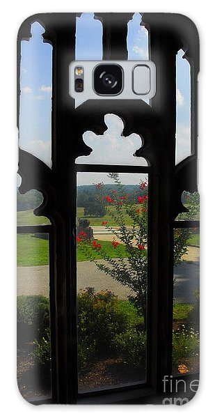 Through The Chapel Arches Galaxy Case by Cindy Manero