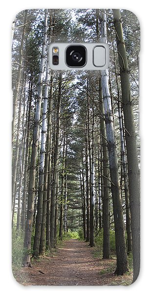 Through The Woods Galaxy Case by Jeannette Hunt