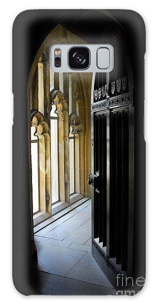 Thru The Chapel Door Galaxy Case by Cindy Manero