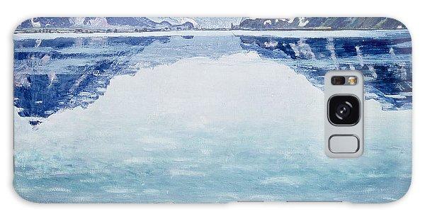 Mountain Lake Galaxy Case - Thunersee Von Leissigen by Ferdinand Hodler