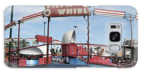 Tilt A Whirl Ride Galaxy Case
