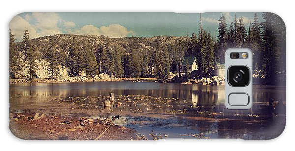 White Mountain National Forest Galaxy Case - Time Always Reveals by Laurie Search
