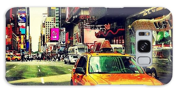 Times Square Taxi Galaxy Case
