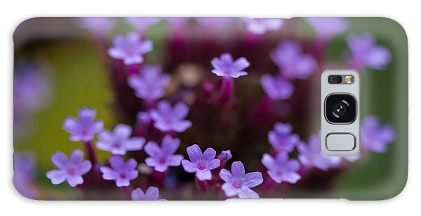 tiny blossoms II Galaxy Case by Andreas Levi