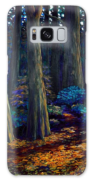 To The Woods Galaxy Case by Jeanette Jarmon