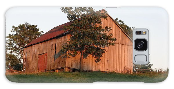 Tobacco Barn II In Color Galaxy Case