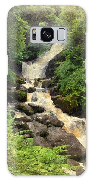 Torc Waterfall In Ireland Galaxy Case
