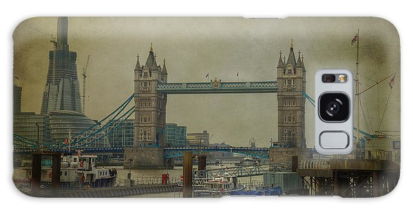 Tower Bridge. Galaxy Case by Clare Bambers