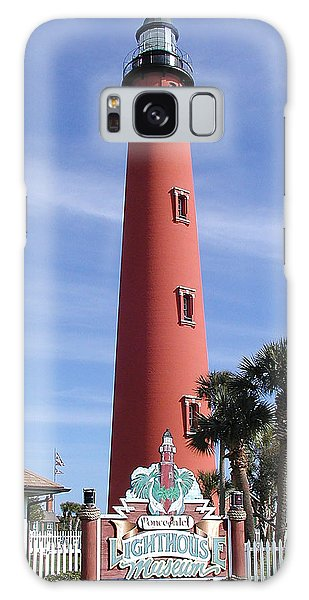 Towering Lighthouse Galaxy Case