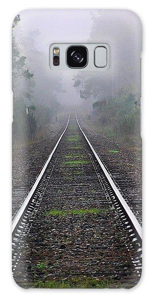 Tracks In Fog Galaxy Case