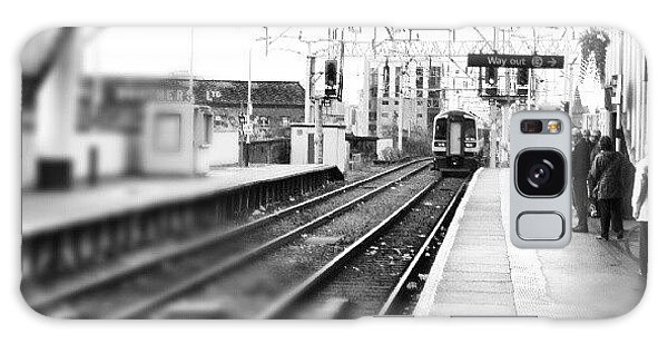 Classic Galaxy Case - #train #trainstation #station by Abdelrahman Alawwad