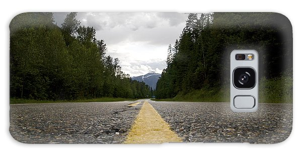 Trans Canada Highway Galaxy Case by JM Photography