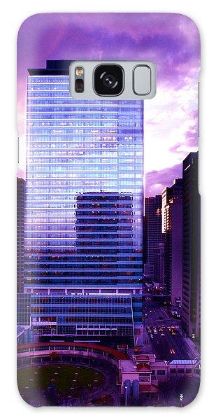 Transalta Building Purple Galaxy Case by JM Photography