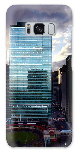 Transcanada Tower Galaxy Case by JM Photography