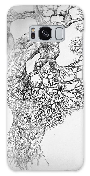 Tree 21 Galaxy Case