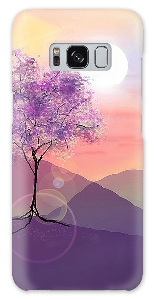Tree On A Hill Galaxy Case