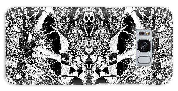 Tree Patterns Galaxy Case by Michele Cornelius